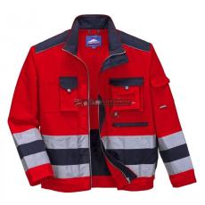 Portwest TX50 Lille Hi-Vis kabát (Piros/navy)