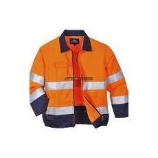 Portwest TX70 Madrid Hi-Vis jól láthatósági kabát (narancs/navy)
