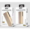 Powerbank: Letang S700 arany fém power bank 8000mAh