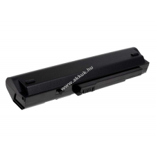 Powery Acer Aspire One A150L 5200mAh fekete acer notebook akkumulátor