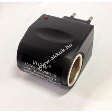 Powery Adapter hálózati töltő 220V -> autós töltő 12V - 1A kábel és adapter