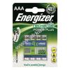 Powery Energizer PowerPlus Micro AAA Akku 700mAh 4db/csom.