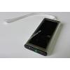 Powery Hordozható külső USB-s akku és napelemes (szolár) töltő -Powerbank- (mobil-, okostelefon)