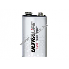 Powery Lithium Elem Ultralife típus CR9V 9V-Block speciális elem