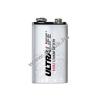 Powery Lithium Elem Ultralife típus SLM9V 9V-Block