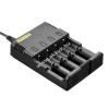 Powery Nitecore Intellicharge típus I4 gyorstöltő 4db AAA Ni-MH akkuhoz