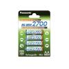 Powery Sanyo/Panasonic Mignon ceruzaakku típus AA HR-3U sorozat: 2700 (NiMH) 4db/csom.