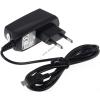 Powery töltő/adapter/tápegység micro USB 1A Blackberry Curve 8520