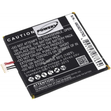Powery Utángyártott akku Alcatel típus TLP017A2 mobiltelefon akkumulátor