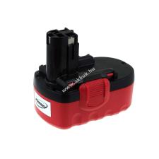 Powery Utángyártott akku Bosch szablyafűrész GSA 18VE NiMH 3000mAh O-Pack barkácsgép akkumulátor