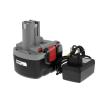 Powery Utángyártott akku Bosch típus 2607335686 O-Pack Li-Ion + töltő