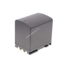 Powery Utángyártott akku Canon ZR200 2400mAh canon videókamera akkumulátor