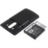 Powery Utángyártott akku LG LS990 LTE fekete 6000mAh