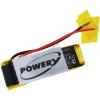 Powery Utángyártott akku Plantronics típus 73366-01