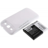 Powery Utángyártott akku Samsung GT-I9308 fehér 3300mAh