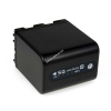 Powery Utángyártott akku Sony Videokamera DCR-PC120E 4500mAh Antracit és LED kijelzős