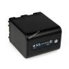 Powery Utángyártott akku Sony Videokamera HDR-UX1e 4500mAh Antracit és LED kijelzős