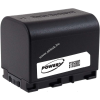 Powery Utángyártott akku videokamera JVC GZ-E300BEU 3,6V 2670mAh Li-Ion fekete (info chip-es)