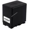 Powery Utángyártott akku videokamera JVC GZ-MG750AU 4450mAh (info chip-es)