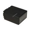 Powery Utángyártott akku videokamera Panasonic HDC-SD20 4800mAh