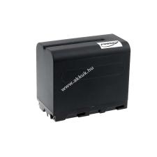 Powery Utángyártott akku videokamera Sony DCR-TRV210E 6600mAh fekete sony videókamera akkumulátor