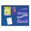 Premium filc pinboard, 60x90 cm, kék
