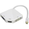 PremiumCord mini DisplayPort -&gt, HDMI + DVI + VGA 1080p