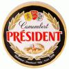 Président Camembert sajt 120 g natúr