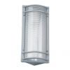 Prezent 3035 - FREE kültéri fali lámpa 1xE27/60W ezüst IP54