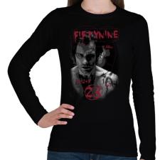 PRINTFASHION 59vs23-01.png - Női hosszú ujjú póló - Fekete női póló
