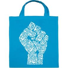 PRINTFASHION A forradalom keze - Vászontáska - Kék