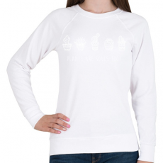 PRINTFASHION A növényeknek is van lelke - Női pulóver - Fehér