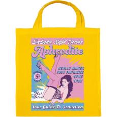 PRINTFASHION Afrodité - Vászontáska - Sárga