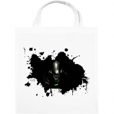 PRINTFASHION Alien  - Vászontáska - Fehér