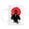 PRINTFASHION American ninja - Bögre - Fehér
