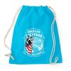 PRINTFASHION Amerikai juhászkutya  - Sportzsák, Tornazsák - Surf blue