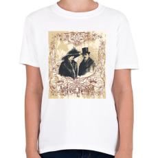 PRINTFASHION Antik divat - Gyerek póló - Fehér