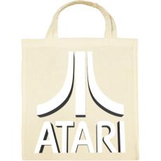 PRINTFASHION ATARI 3D Logo - Vászontáska - Natúr