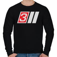 PRINTFASHION AUDI S3 - Férfi pulóver - Fekete