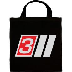 PRINTFASHION AUDI S3 - Vászontáska - Fekete