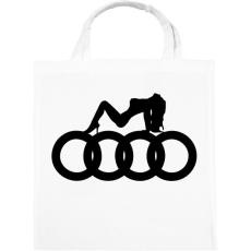 PRINTFASHION Audi - Vászontáska - Fehér