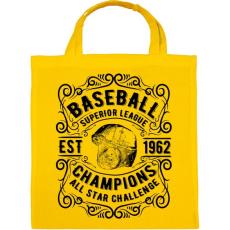 PRINTFASHION Baseball szuper liga  - Vászontáska - Sárga