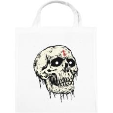 PRINTFASHION Beast Design Skull - Vászontáska - Fehér