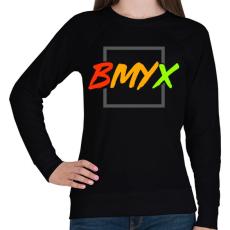PRINTFASHION BeMyEx - Női pulóver - Fekete
