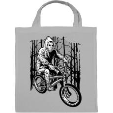 PRINTFASHION Biciklis gyilkos - Vászontáska - Szürke