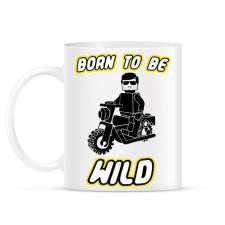 PRINTFASHION born-to-be-wild-black - Bögre - Fehér ajándéktárgy