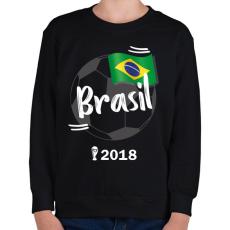 PRINTFASHION Brazília - Gyerek pulóver - Fekete