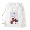 PRINTFASHION BTS Love Yourself Tear - Sportzsák, Tornazsák - Fehér