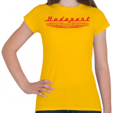 PRINTFASHION budapest-ikarus-red - Női póló - Sárga