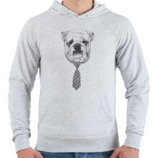 PRINTFASHION Cooldog - Férfi kapucnis pulóver - Sport szürke
